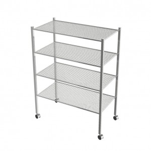 Wire Shelving Unit With 4 Shelves