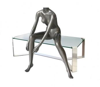 Sitting Headless Female Mannequin
