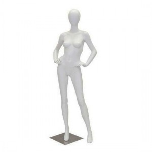 Full Body Female With Metal Plate