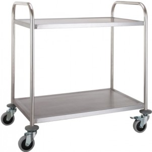 2 Tiered Rolling Cart