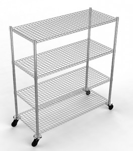 3 Tiered Rolling Cart