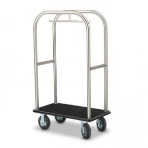 Luggage Cart Polished Chrome