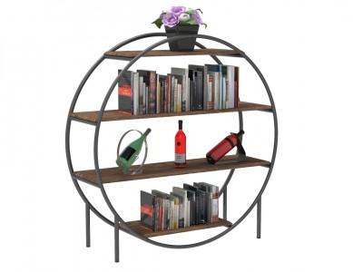 Round 4 Tier Shelf Display