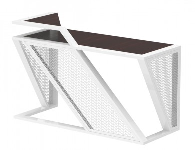 Office Table (With Metal Mesh)