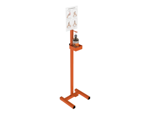 Manual Operated Sanitizer Stand