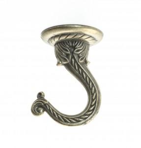Swivel Swag Hook Antique Brass