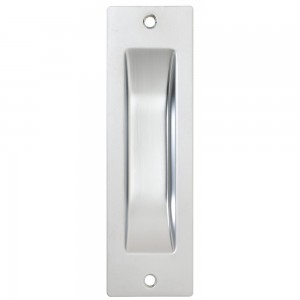 Flush Pull-Nickel