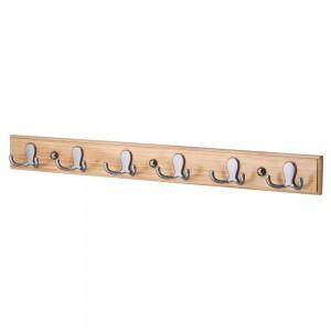 Hook Rack-Satin Nickel