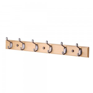 Hook Rack Stain Nickel