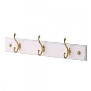 Hook Rack Stain Brass