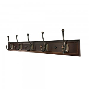 Hook Rail-Oil Rubbed Bronze