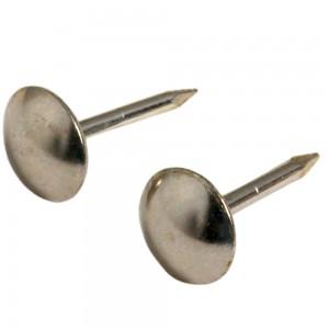 Semi-round head nail