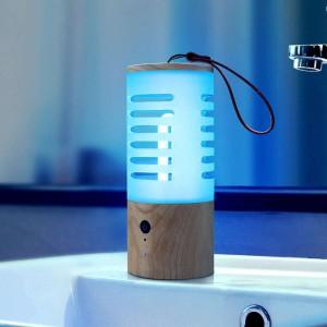 360 Degree 99.9% Disinfection Rate UVC Ozone Sterilization Lamp Portable Sanitiz