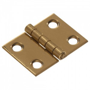 "Broad Hinge Solid Brass 3/4"""