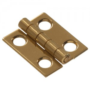"""Narrow Hinges Solid Brass 3/4"""""""