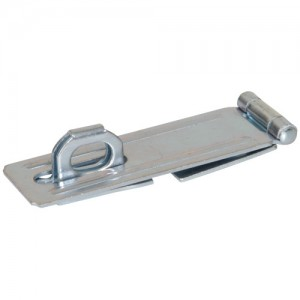 """Fixed Staple Safety Hasp 4-1/2"""""""