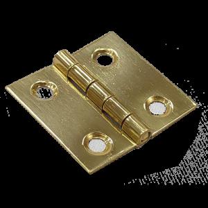 "Broad Hinge (Solid Brass 1"")"