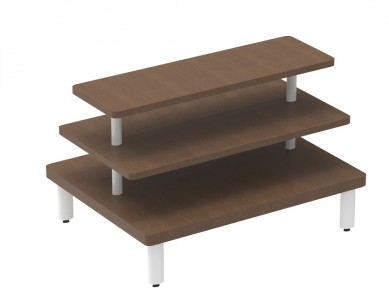 3 Tiered Rectangular Table