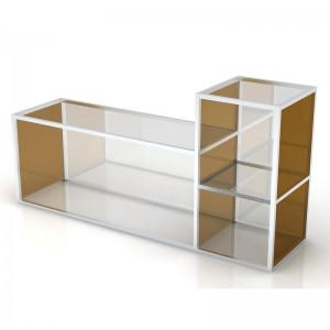 Multi Level Glass Table