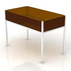 Plexi Table Bin
